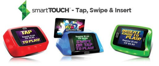 Embed was to introduce a new family of interactive Debit Card readers called smartTouch™ at the DEAL event.