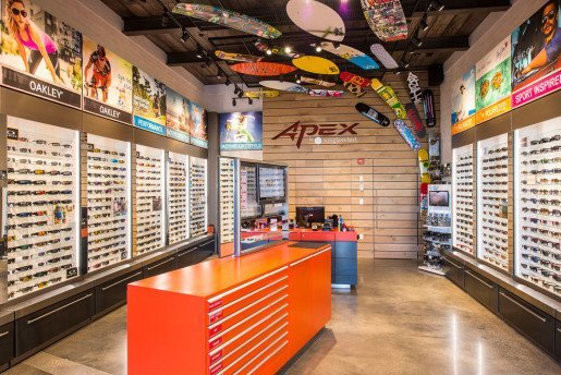 The Apex by Sunglass Hut at Disney Springs.