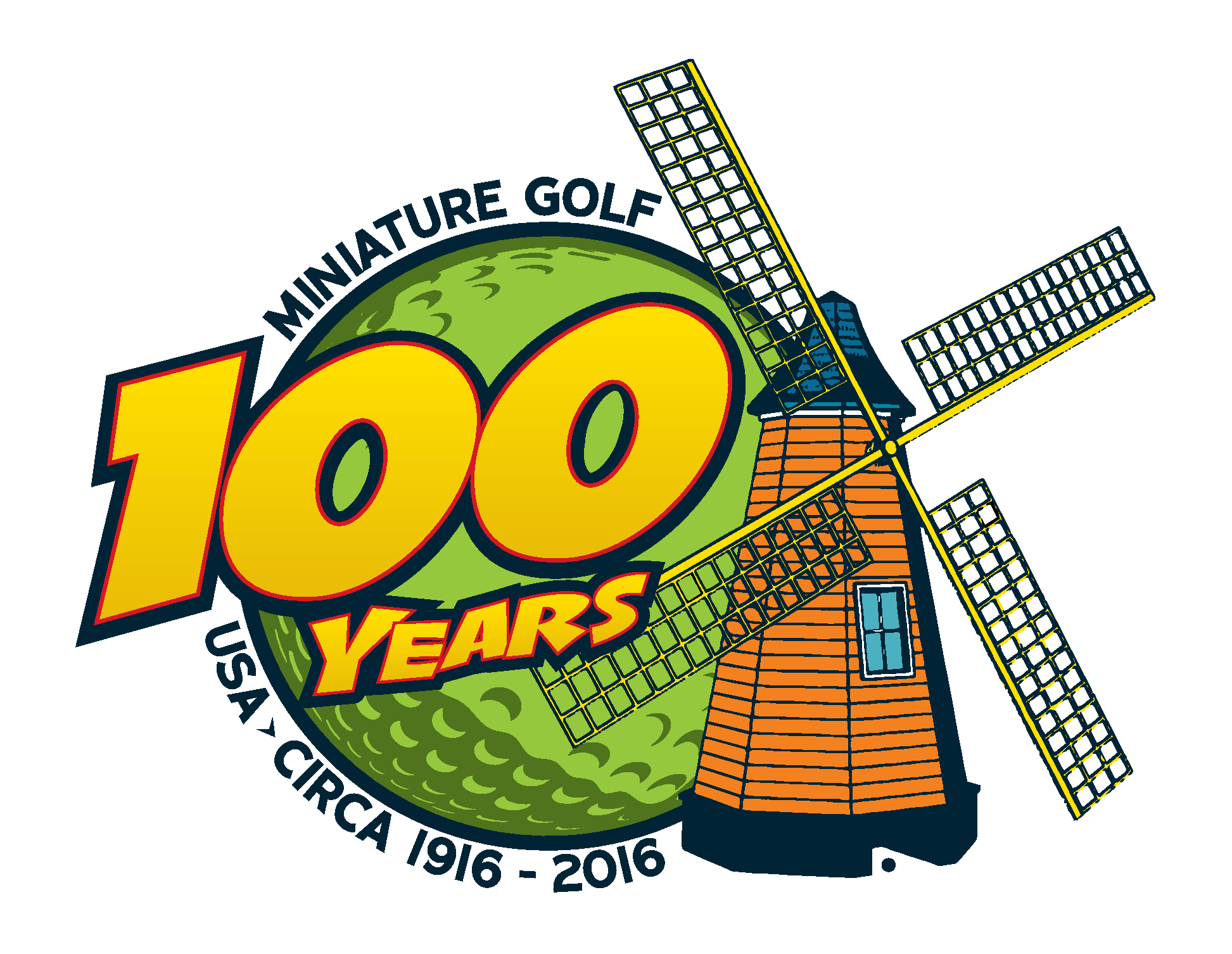 100 Years of Mini golf celebration and fundraiser