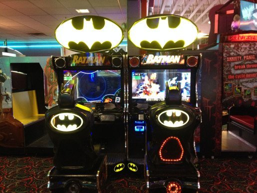 """A Batman game at Wilsonville Family Fun Center. """"We look to have a quick payback on any game we buy when it comes to redemption,"""" the center's general manager said."""