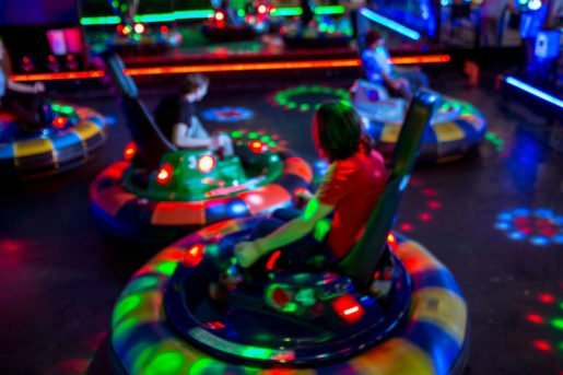 "Bumper cars at All Star Bowling & Entertainment in Tooele, Utah. "" …When guests walk in through our front door, everyone knows how to upsell from their training and staff meetings,"" the director of sales said."
