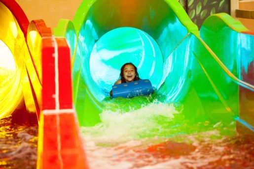A guest enjoys a ride at Sahara Sam's Oasis in West Berlin, N.J. The best way to maintain a park is to be proactive, the assistant general manager said, and daily safety inspections include an itemized checklist for each of the 14 attractions.