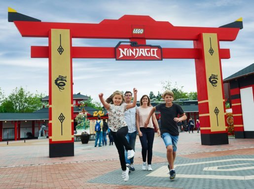 Ninjago at Legoland is based on the fast-selling Lego toys and the popular TV shows. Photo by Chip Litherland.