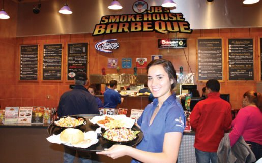 Kiara Nazario of Six Flags New England. Serving classic foods with custom elements is a trend for the park.
