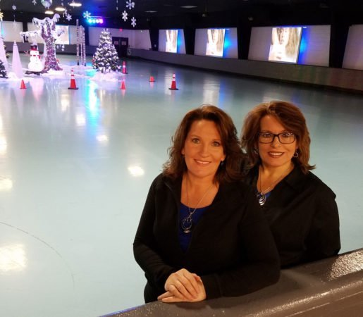 "Co-owners of the Rock n Roller Rink, LLC, Linda Burgett and Shelley Rhames. ""When we run meal specials, we make sure they're promoted throughout the evening by our DJ,"" Rhames said."