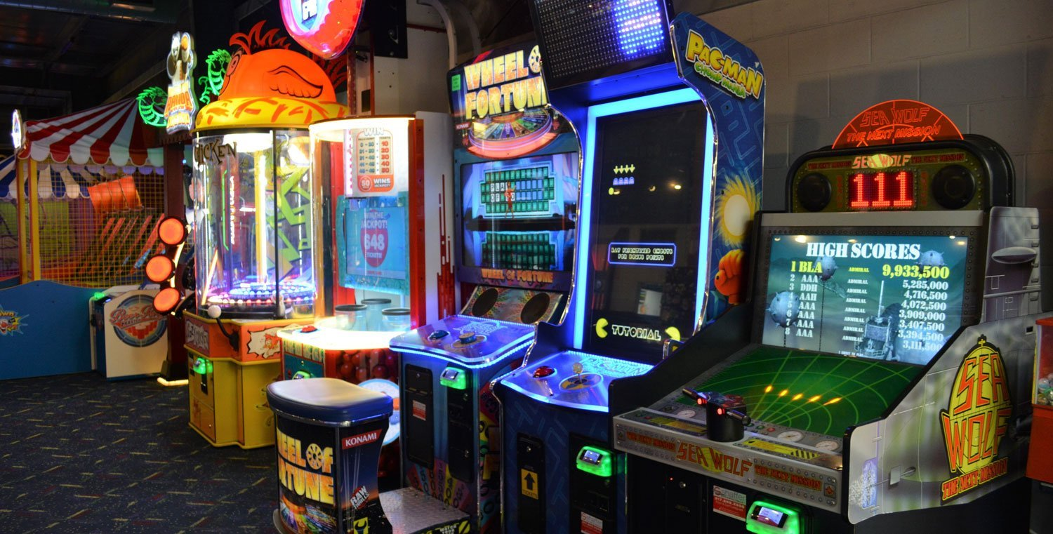 The Arcade Extra <br> How Coin-Op Games Add Value to the Laser Tag Experience