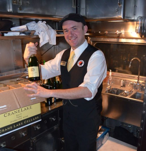 Josh Miller, station master, Lake Superior Railroad Museum & North Shore Scenic Railroad, Duluth, Minn. The attraction purchases most items for its concession areas through suppliers who deal in wholesale rates designed for resale.