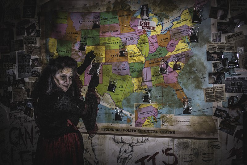 Jen Bond of Wisconsin Fear Grounds. The September/October 2016 TAP Haunted Attractions story covered how haunts get ready for the busy fall season.