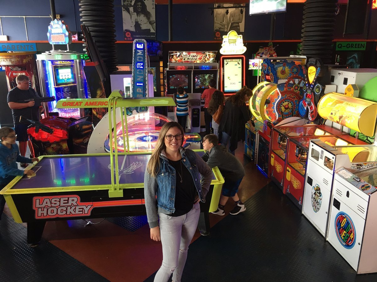 Aiming for Fun<br> Trends at Laser Tag Centers