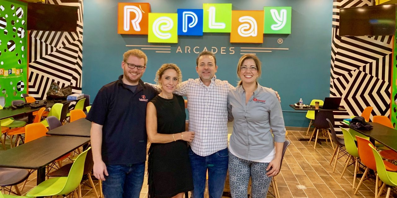 Replay Arcades Goes with Intercard Technology in Mexicali, Mexico