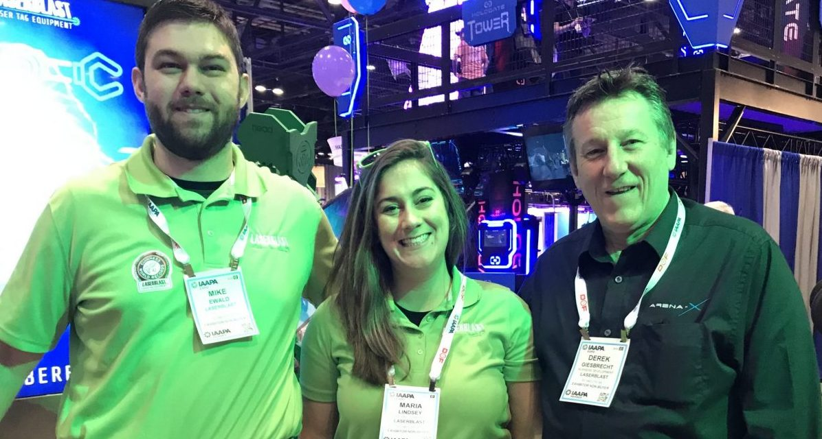 Seen at the 2019 IAAPA Expo