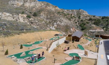 Unique Badlands Mini Golf is Popular Attraction at Tourist Town