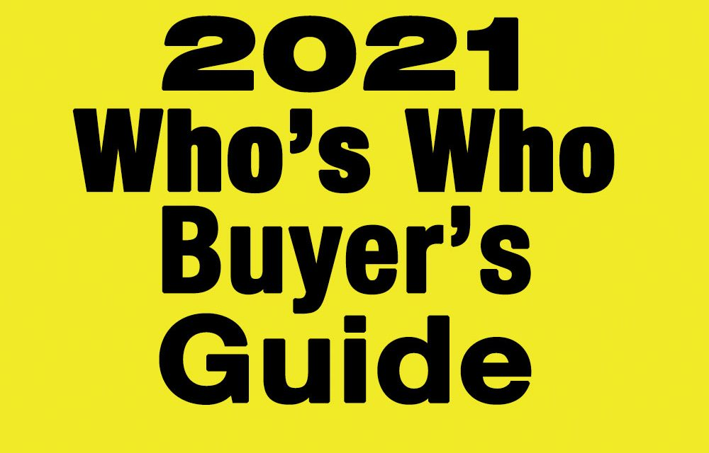 2021 Who's Who Buyer's Guide